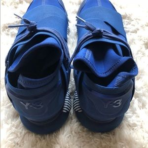dbc37a0c364 Y-3 Shoes - Adidas Y3 Qasa High Royal Blue
